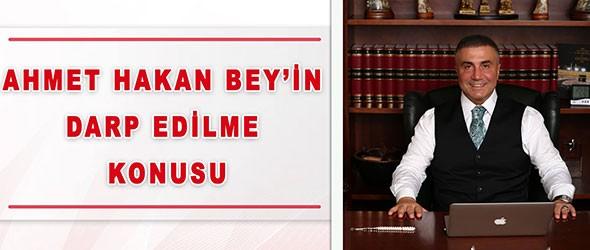 Sedat Peker: Ahmet Hakan Darp Konusu