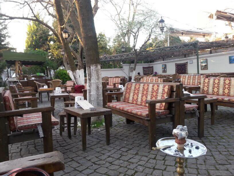 teras cafeden bir görünüm